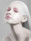 Girl white pink airbrush 2